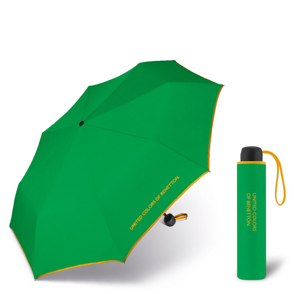 United Colors of Benetton Taschenschirm Super Mini grün