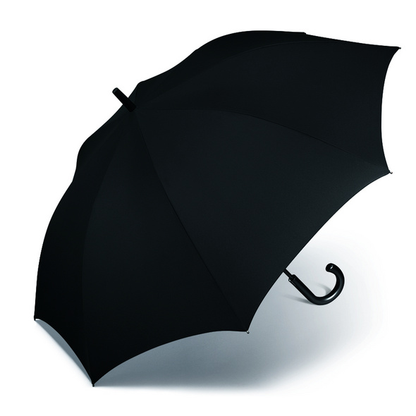 Happy Rain Stockschirm Golf AC Kinematic schwarz