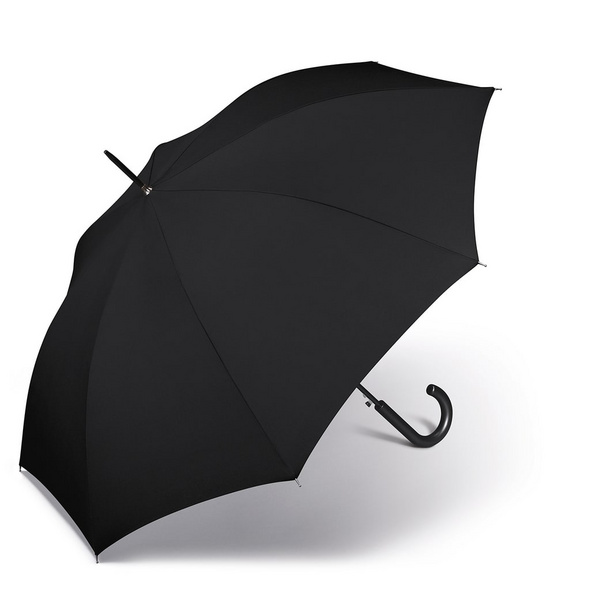 Happy Rain Stockschirm Long AC schwarz