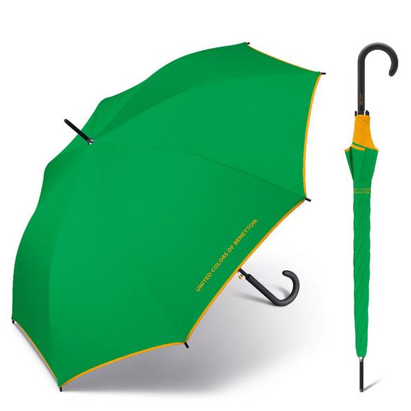 United Colors of Benetton Stockschirm Long AC grün