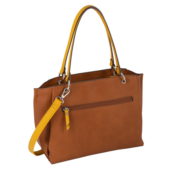 Tom Tailor Shopper Alassio cognac