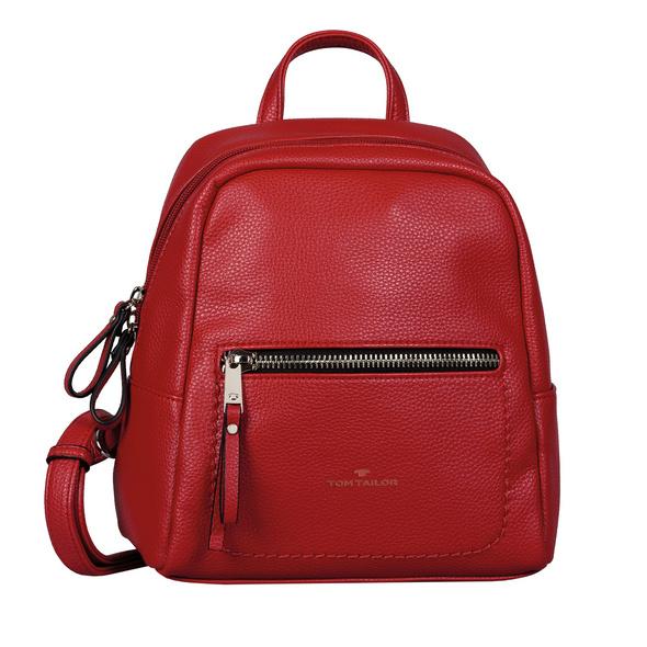 Tom Tailor Damenrucksack Tinna red