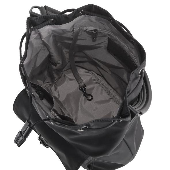 Bree Beuteltasche Barcelona Nylon 15 schwarz