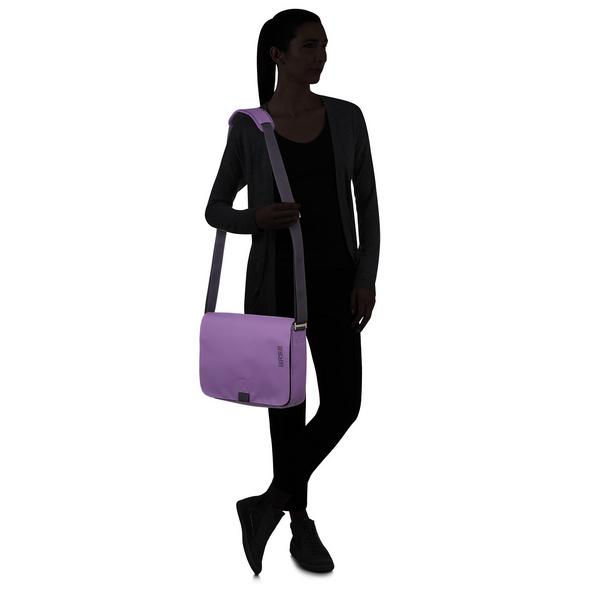 Bree Messenger Bag Punch 62 pat. purple