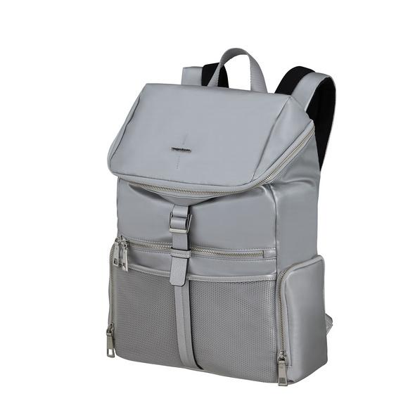 "Samsonite Laptop Rucksack Activ-Eight Top Open 14,1"" silver"