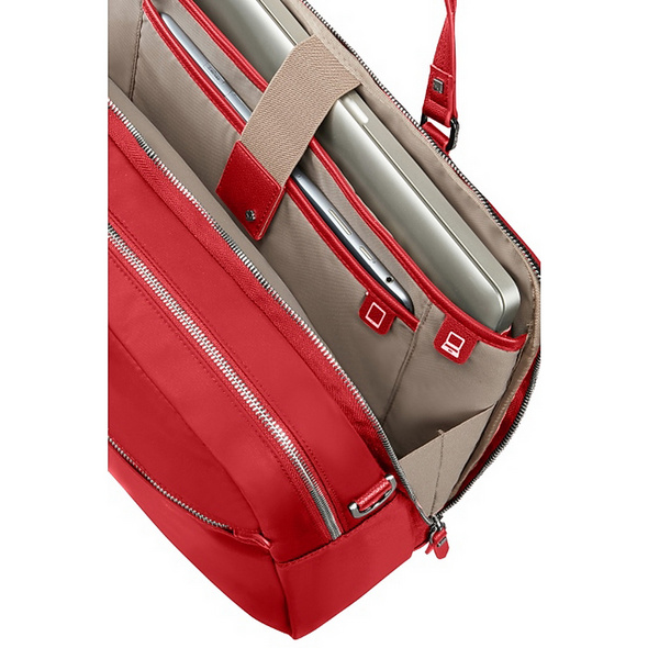 "Samsonite Laptoptasche Karissa Biz  2 Comp 15.6"" formula red"