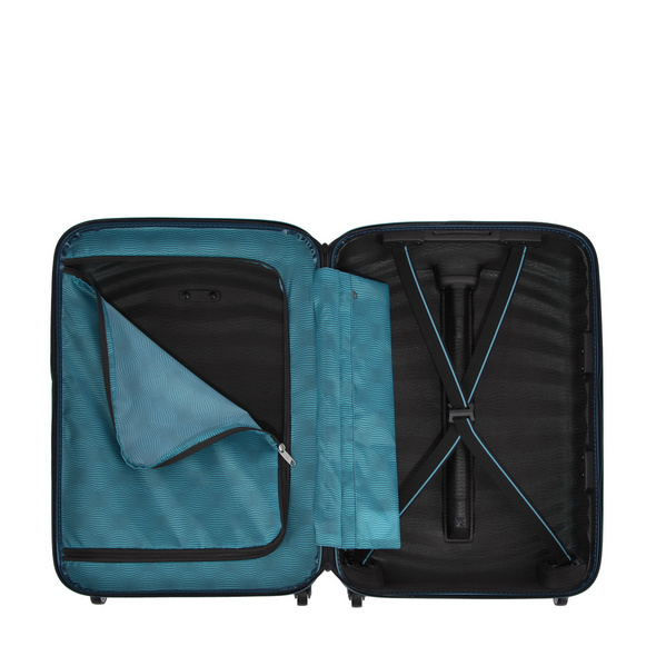 Samsonite Reisetrolley Lite-Shock 55cm petrol blue