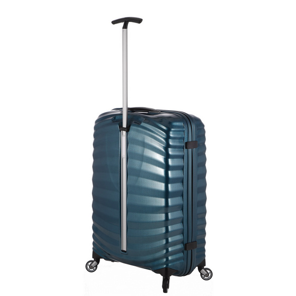 Samsonite Reisetrolley Lite-Shock 69cm petrol blue