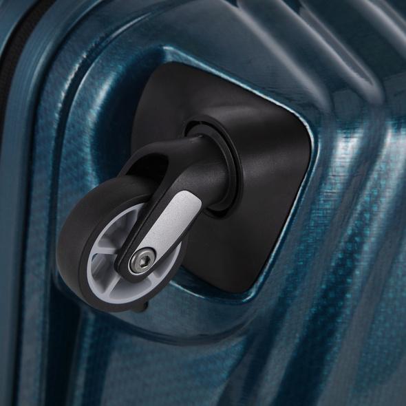 Samsonite Reisetrolley Lite-Shock 75cm petrol blue