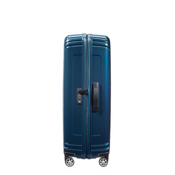 Samsonite Reisetrolley Neopulse 75cm metallic blue