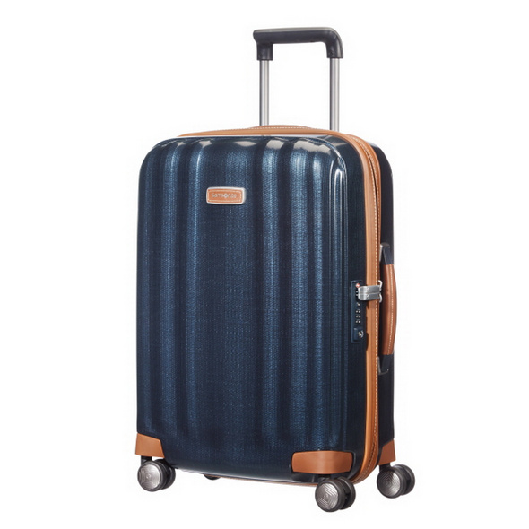 Samsonite Reisetrolley Lite-Cube DLX 55cm midnight blue
