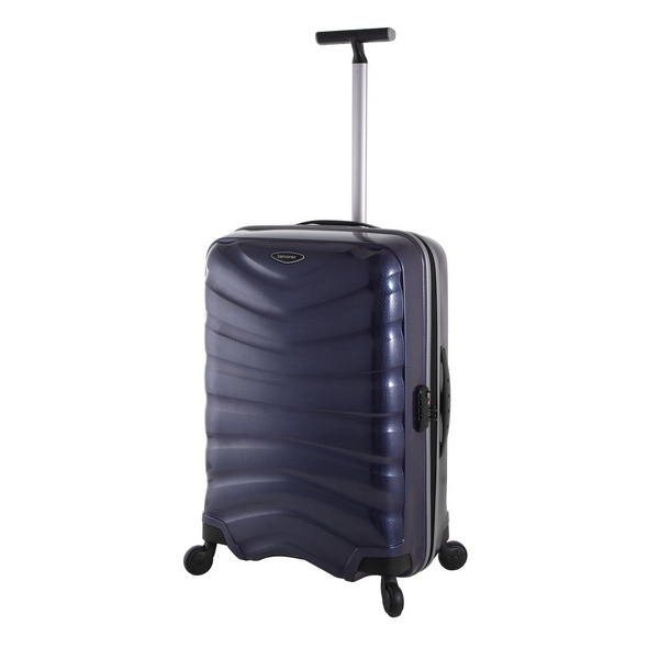 Samsonite Reisetrolley Firelite 69cm navy blue