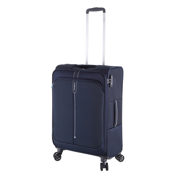 Samsonite Reisetrolley PopSoda Spinner 66cm dark blue