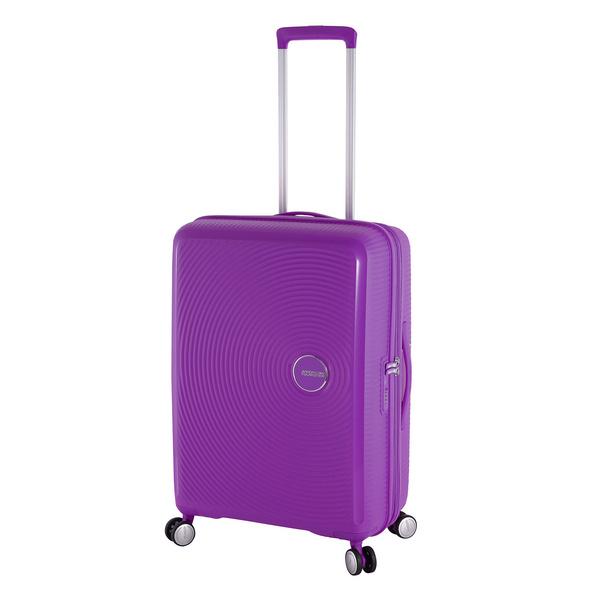 American Tourister Reisetrolley Soundbox 67cm purple orchid