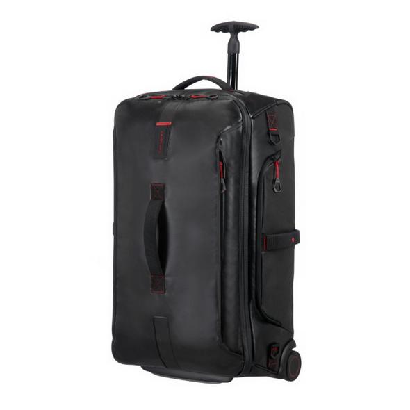 Samsonite Reisetasche mit Rollen Paradiver Light 74,5l schwarz