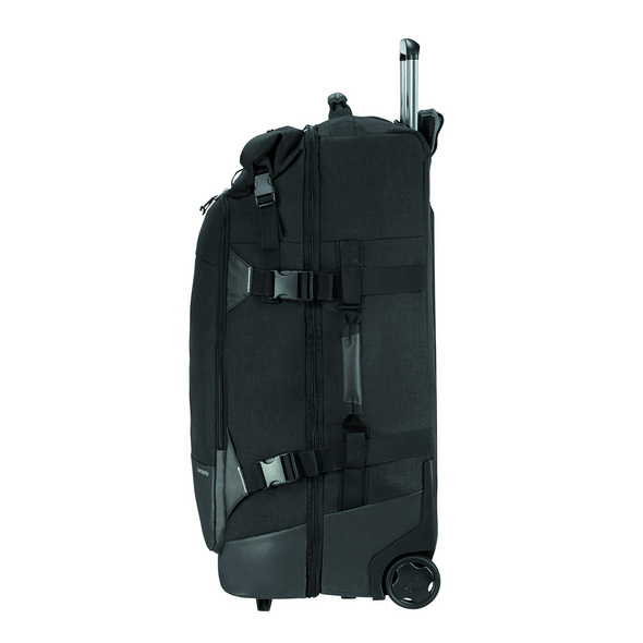 Samsonite Reisetasche mit Rollen Ziproll Duffle WH 75/28 93l schwarz