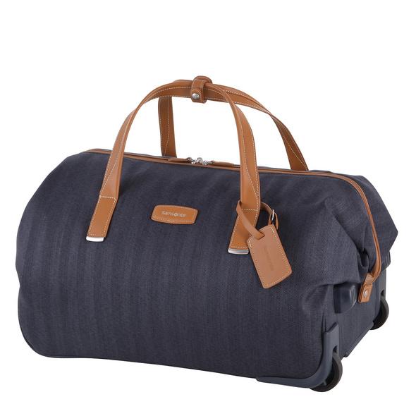Samsonite Reisetasche mit Rollen Lite DLX 53,5l midnight blue