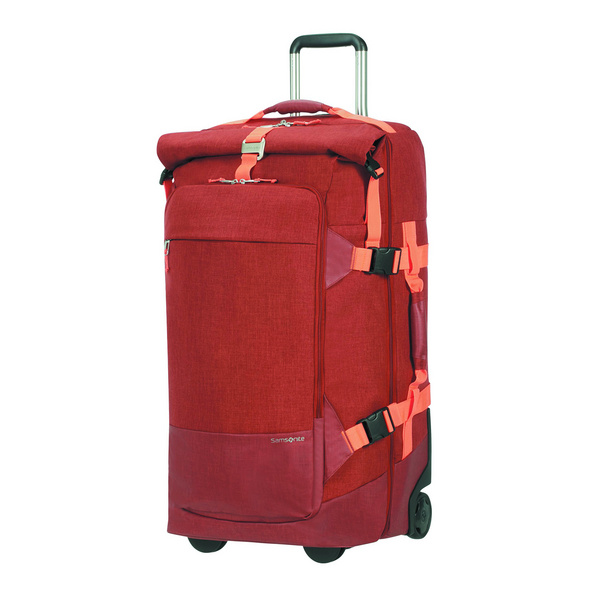 Samsonite Reisetasche mit Rollen Ziproll Duffle WH 75/28 93l burnt orange