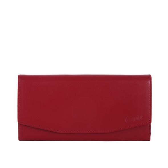 Esquire Portmonee Damen New Silk 12430 mittelrot