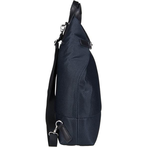 Jost Laptoprucksack X-Change Mesh Bag L 3in1 silber