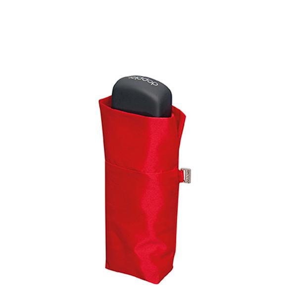doppler Taschenschirm Fiber Handy Uni rot
