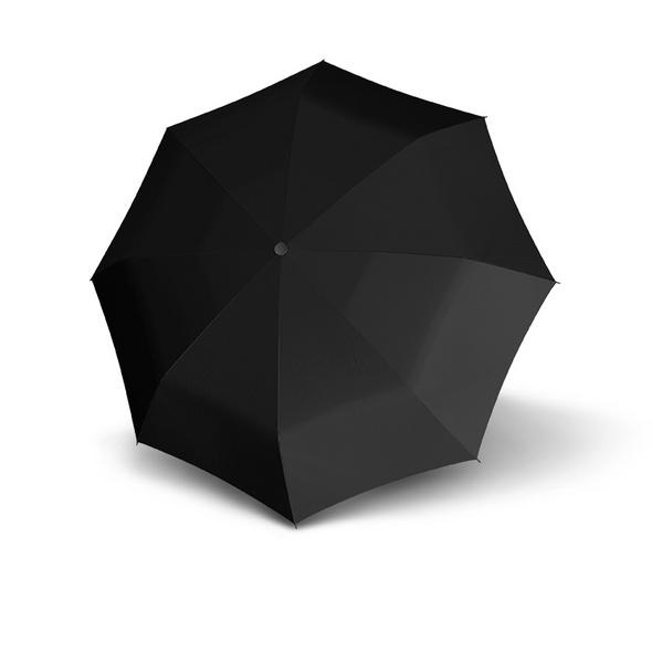 Doppler Stockschirm Golf Fiberglas schwarz