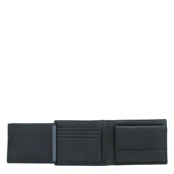 Braun Büffel Geldbörse Herren Turin 60105 schwarz