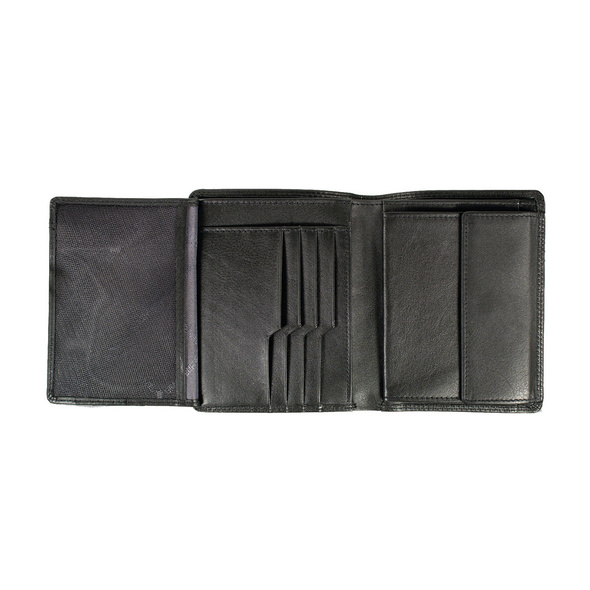Braun Büffel Hochkantbörse Herren Golf Secure H 8CS schwarz