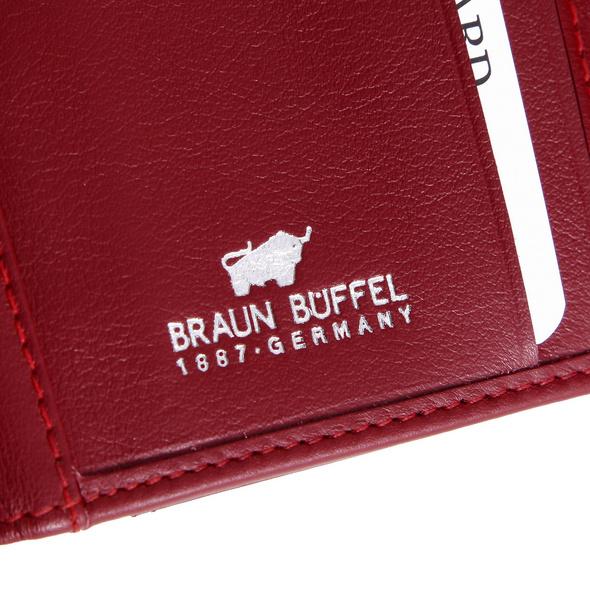Braun Büffel Querbörse 039 rot