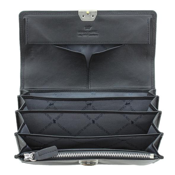 Braun Büffel Kellnerbörse Golf 2.0 Waiter Wallet schwarz