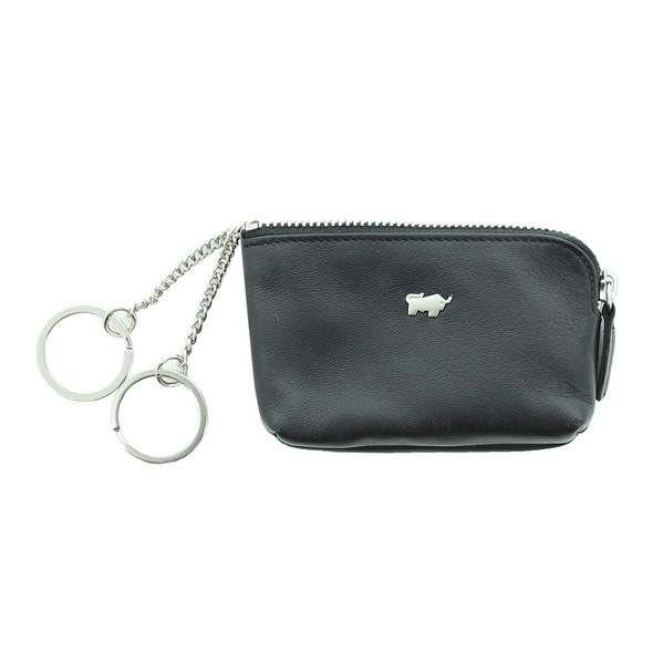 Braun Büffel Schlüsseletui Golf 2.0 S Zip schwarz