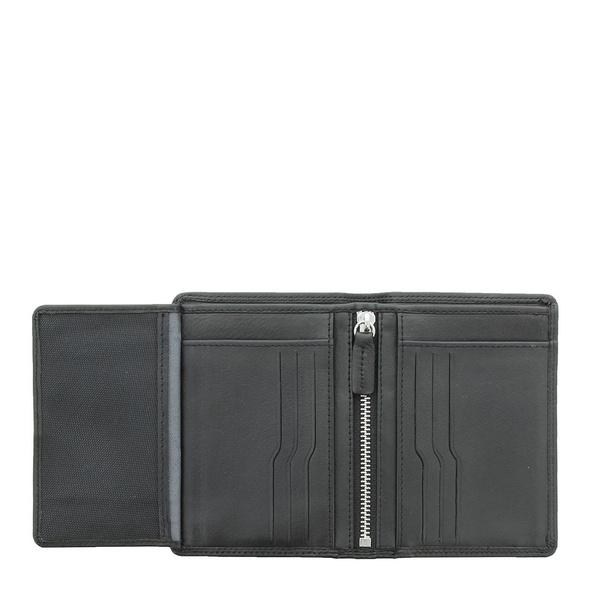 Braun Büffel Kreditkartenetui Golf 2.0 Geldbörse schwarz