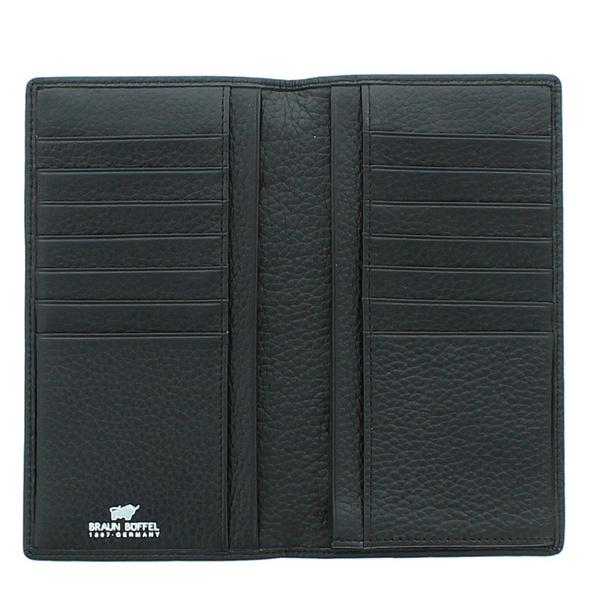Braun Büffel Kreditkartenetui Turin 60109 schwarz
