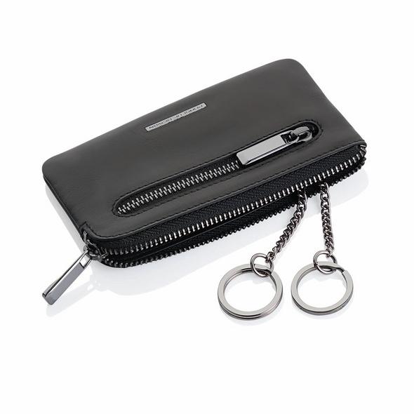 Porsche Design Schlüsseletui SLG Classic Key Case M schwarz