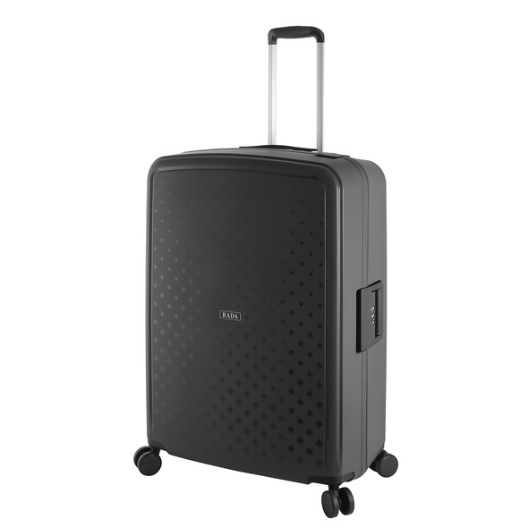 Rada Reisetrolley Rock 4W L 77cm schwarz