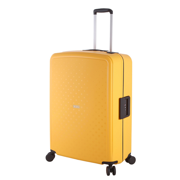 Rada Reisetrolley Rock 4W L 77cm gelb