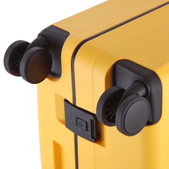 Rada Reisetrolley Rock 4W M 67cm gelb