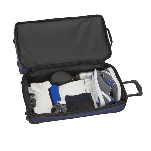 Travelite Reisetasche mit Rollen Basics 98l marine/orange