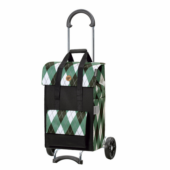 Andersen Einkaufstrolley Scala Ine schwarz/grün