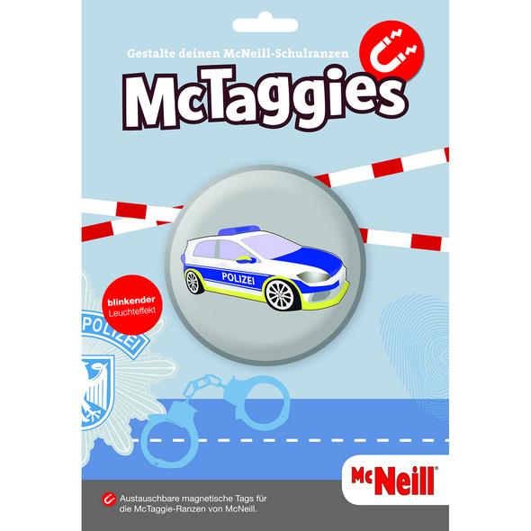 McNeill Anhänger McTaggie blinkend Polizei