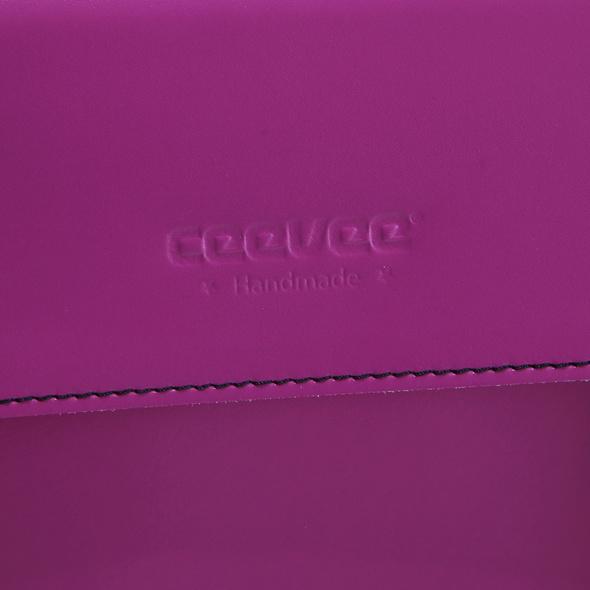 CEEVEE Leather Aktentasche Catchall Business orange