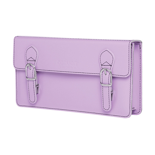 CEEVEE Leather Clutch Catchall Night lilac