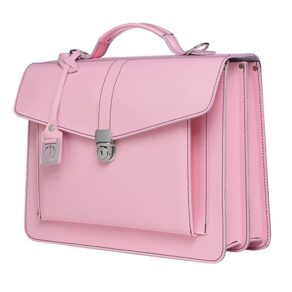 CEEVEE Leather Aktentaschen Catchall III soft pink