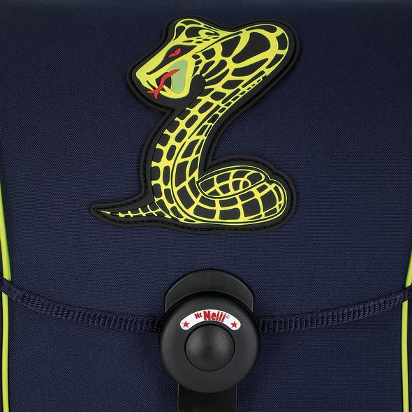 McNeill Schulranzen Set 4-tlg. Ergo Explorer Jungen Snake
