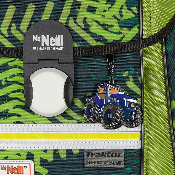 McNeill Schulranzen-Set 4-tlg. McLight Ergo Primero Traktor
