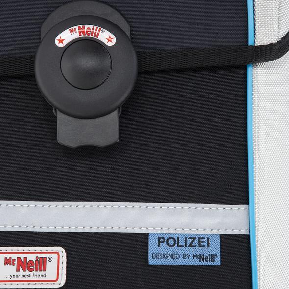 McNeill Schulranzen-Set 4tlg. Ergo Mac Polizei