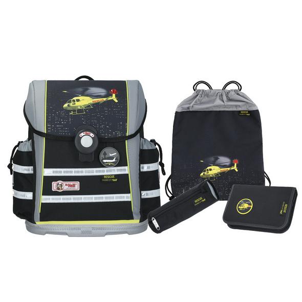 McNeill Schulranzen Set 4-tlg. ErgoLight 912 S 9620 Rescue
