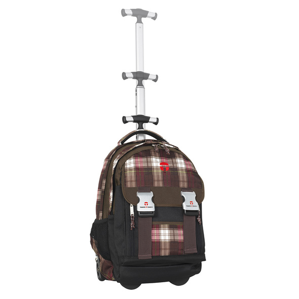 Take It Easy Rucksacktrolley Madrid 28l Plaid