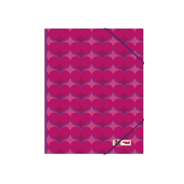 McNeill Gummizugmappe A4 Violet