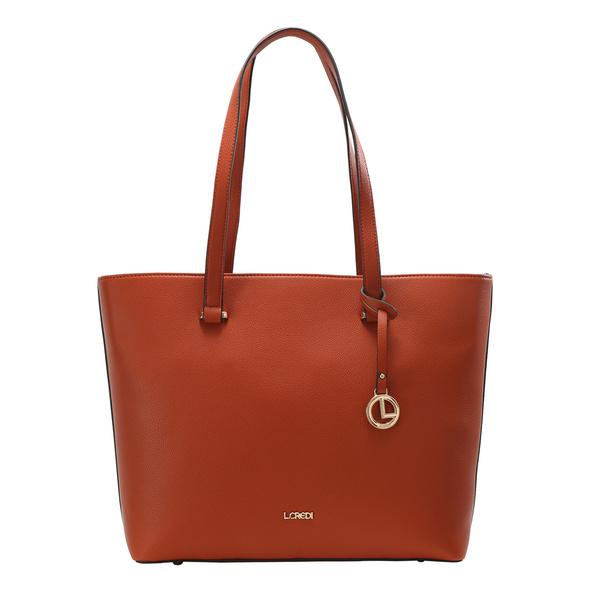 L.Credi Shopper Filippa orange